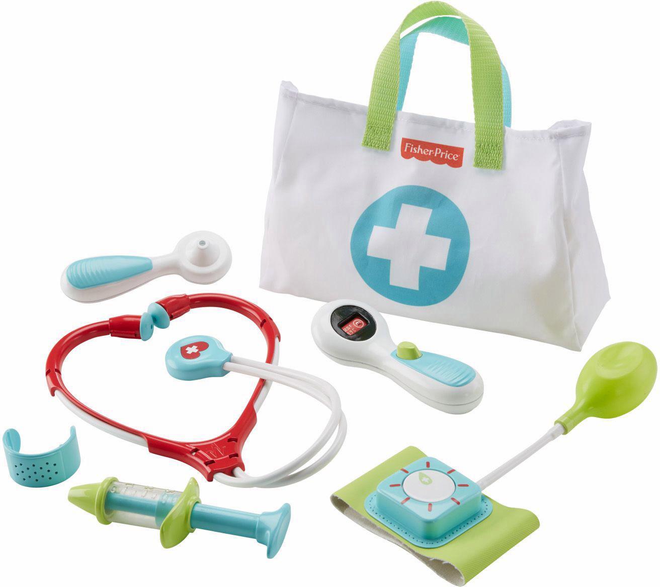 Fisher Price Arztkoffer für Kinder, »Arzttasche«   Taschen > Business Taschen > Arzttaschen   Mehrfarbig   Ab   FISHER PRICE