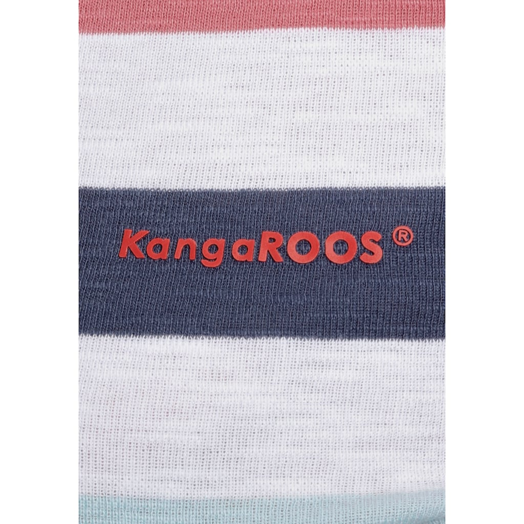 KangaROOS Langarmshirt, im aktuellen Ringelstreifen