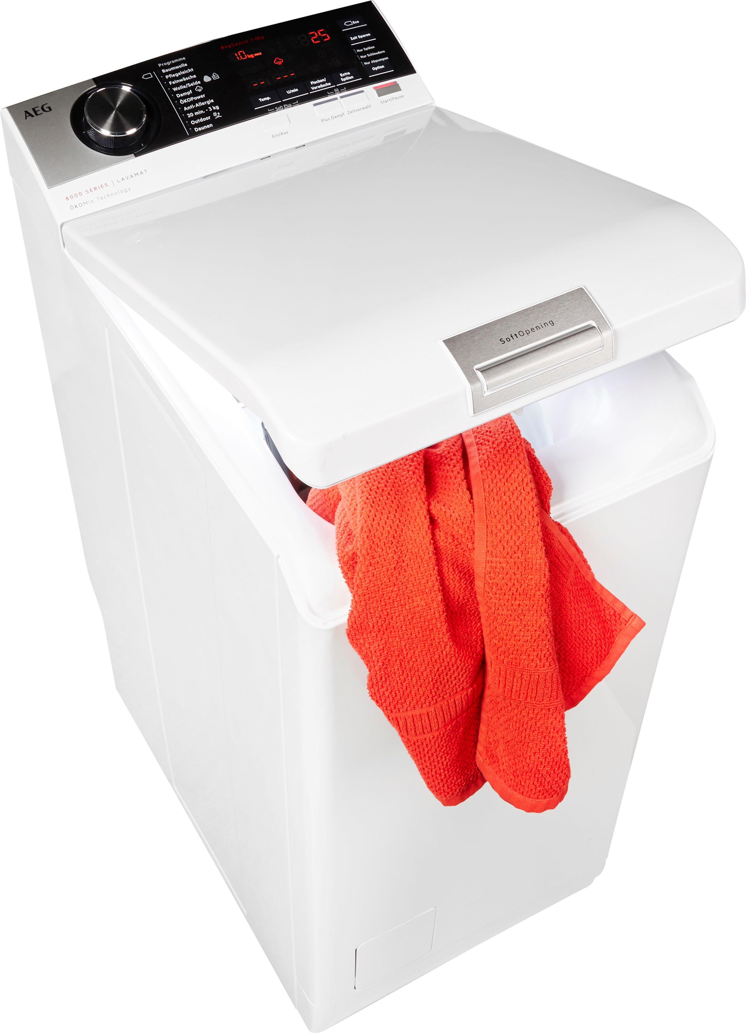 AEG Waschmaschine Toplader L8TE84565 | Bad > Waschmaschinen und Trockner > Toplader | AEG