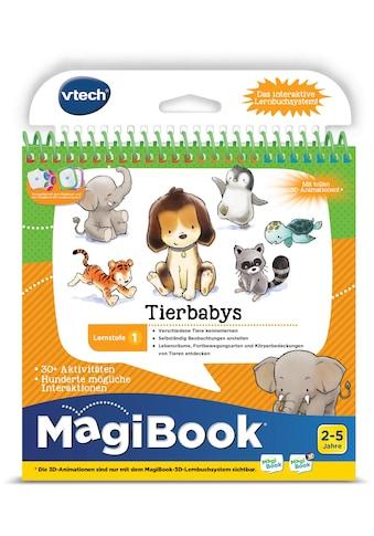 """Vtech® Buch """"MagiBook Lernstufe 1  -  Tierbabys"""" kaufen"""