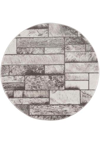 Carpet City Teppich »Noa 9250«, rund, 11 mm Höhe, Wohnzimmer kaufen