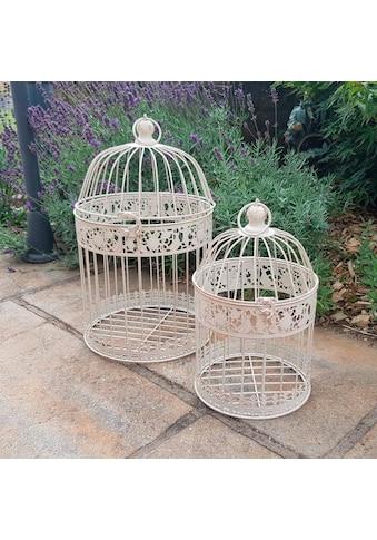 Ambiente Haus Vogelkäfig, 2er Set Outdoor geeignet kaufen