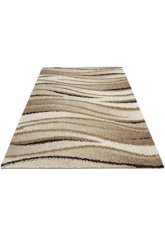 my home Hochflor-Teppich »Jamie«, rechteckig, 30 mm Höhe, weiche Haptik, Wohnzimmer kaufen