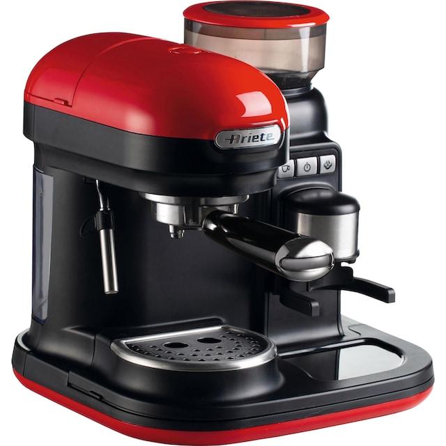 Ariete Espressomaschine 1318 moderna mit Mahlwerk