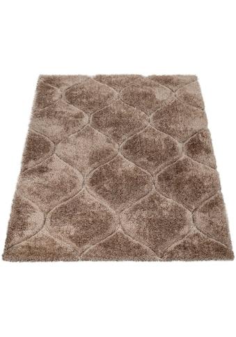 Paco Home Hochflor-Teppich »Palma 333«, rechteckig, 45 mm Höhe, Hochflor-Shaggy mit... kaufen