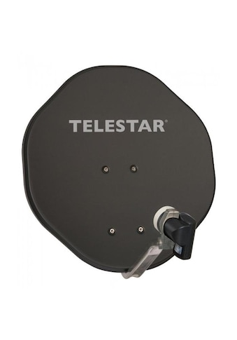 TELESTAR Sat-Spiegel »ALURAPID 45 mit SKYSINGLE HC LNB«, ( Aluminium), mit 40mm... kaufen