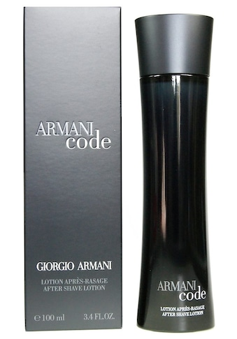 """Giorgio Armani After - Shave """"Code Homme"""" kaufen"""