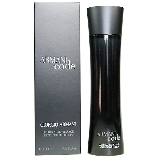 """Giorgio Armani After-Shave """"Code Homme"""""""