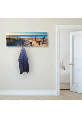 Artland Garderobenpaneel »Weg zum Nordseestrand Sonnenuntergang« kaufen