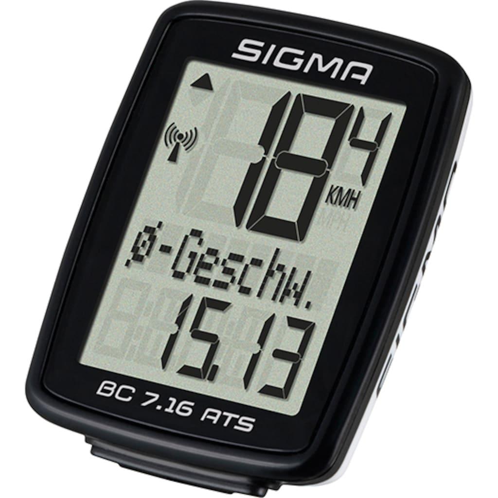 SIGMA SPORT Fahrradcomputer »BC 7.16 ATS«