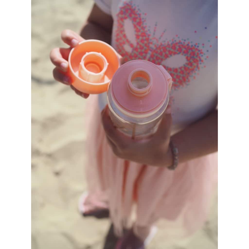 equa Trinkflasche »Kids Playground«, Tritankunststoff, Inhalt 600 ml