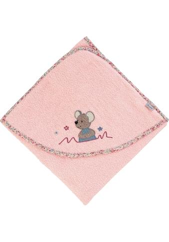 Sterntaler® Kapuzenhandtuch »Mabel«, (1 St.), mit Kapuze kaufen