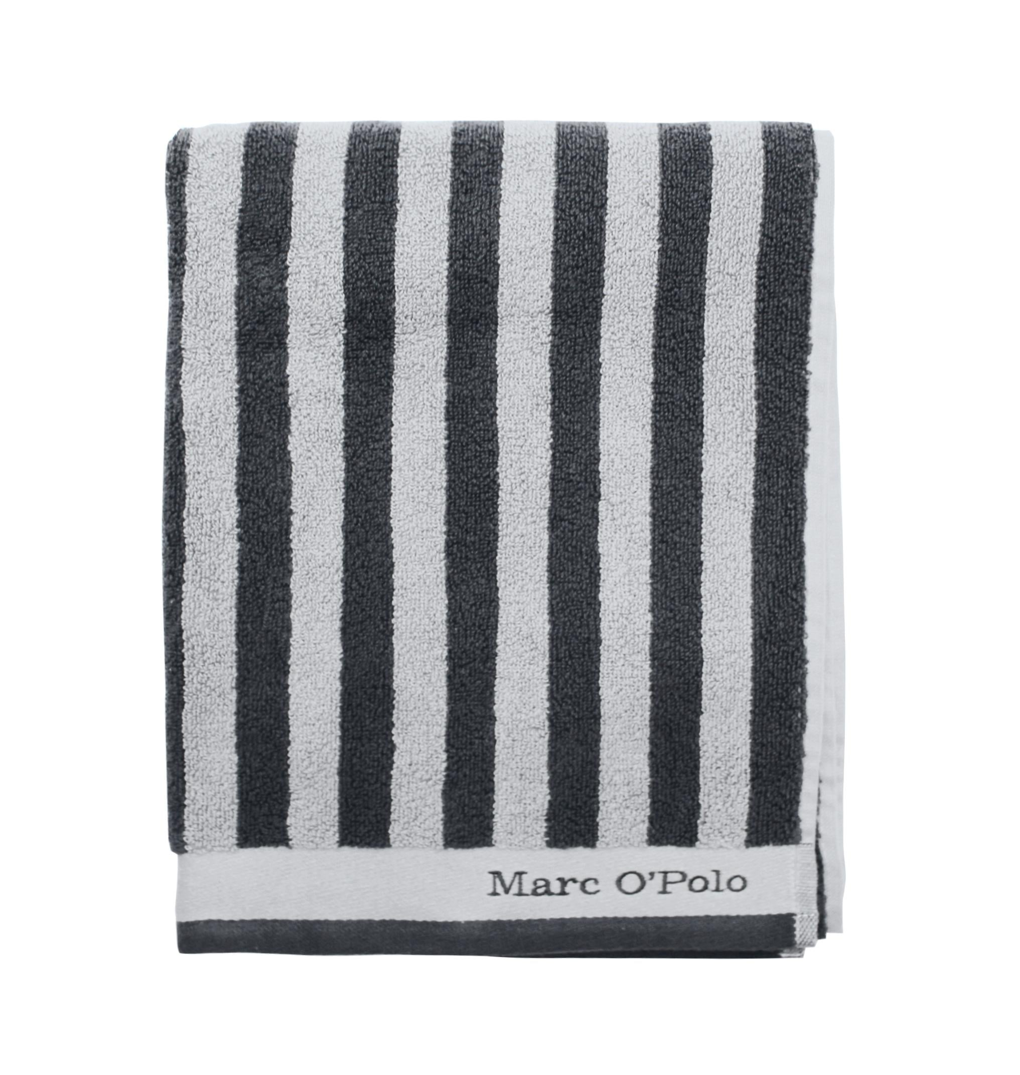 Badetuch, Marc O'Polo, »Classic Stripe«, im klassischen Streifen Design | Bad > Handtücher > Badetücher | Grau | Marc O'Polo