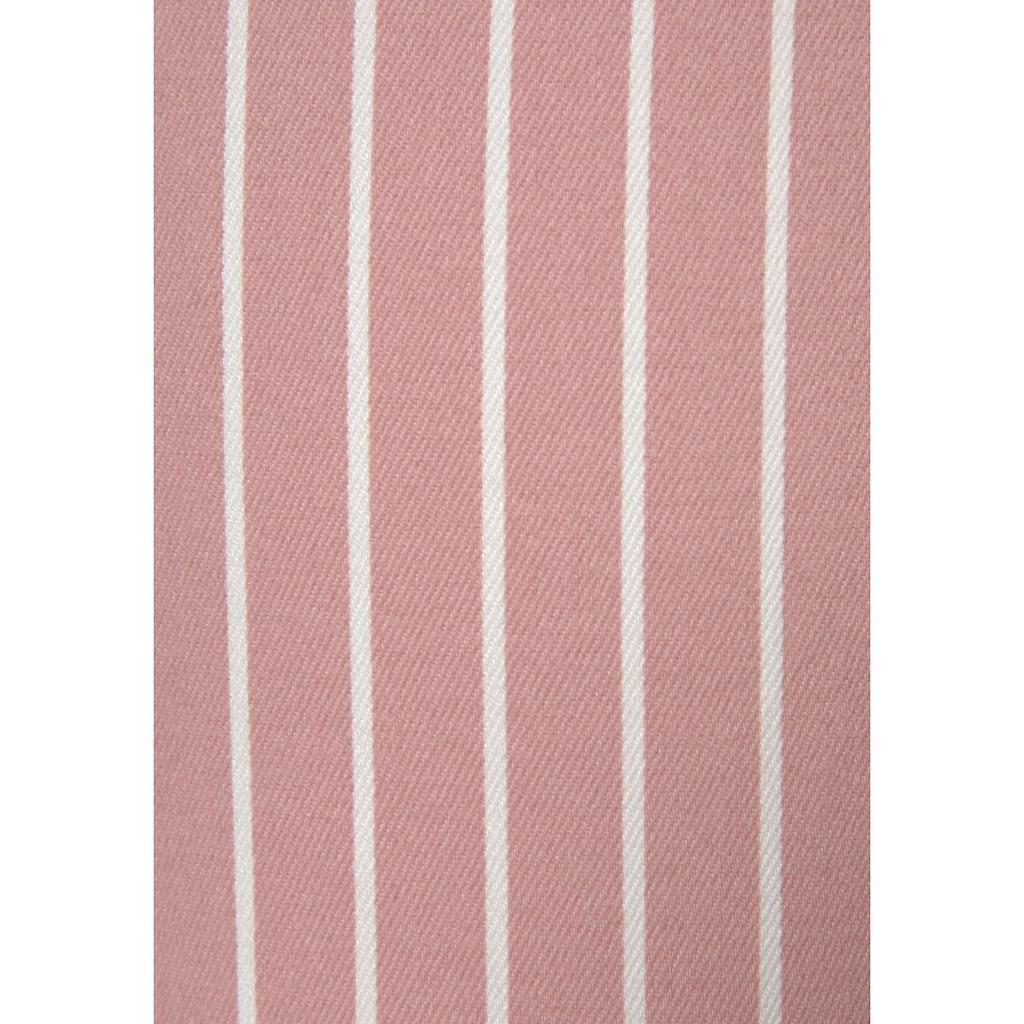 LASCANA 7/8-Jeggings, mit Streifenprint