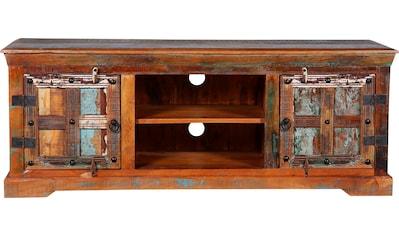 Ploß TV-Board »Jaipur«, aus Altholz, Shabby Chic, Vintage kaufen