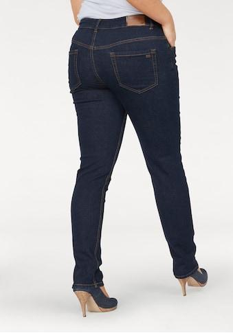 Arizona Slim - fit - Jeans »Svenja  -  Bund mit seitlichem Gummizugeinsatz« kaufen