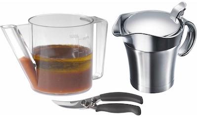 WESTMARK Küchenhelfer-Set »Fett-Trenn-Kanne, Geflügelschere, Thermo-Sauciere« kaufen