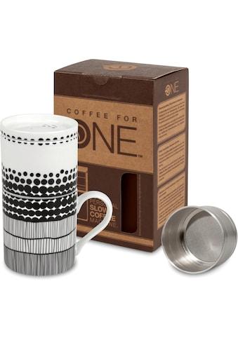 Könitz Kaffeebereiter »Coffee for one - Fell de Moment«, Porzellan kaufen