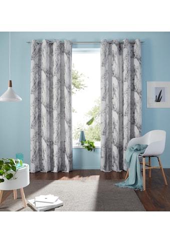 Vorhang, »Mamor«, my home, Ösen 1 Stück kaufen