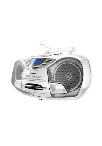 Karcher tragbare Stereo - Boombox »RR 510(N) - W« kaufen