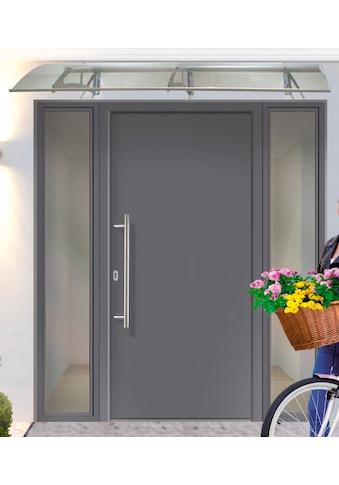 KM MEETH ZAUN GMBH Aluminium - Haustür »A01«, BxH: 98x198 cm, anthrazit, in 2 Varianten kaufen
