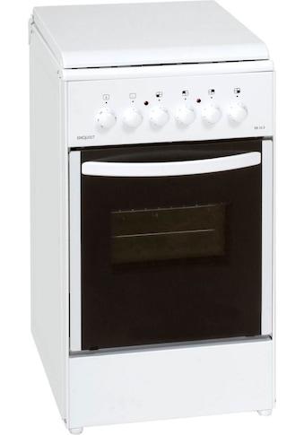 exquisit Elektro-Standherd »EH 10.3 F2« kaufen