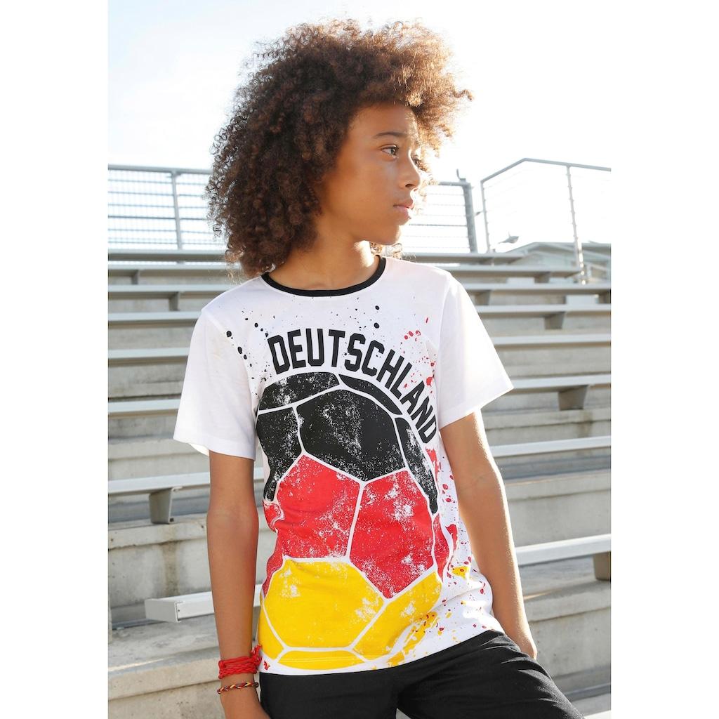 Arizona T-Shirt »Fußball / Deutschland«, mit Druck