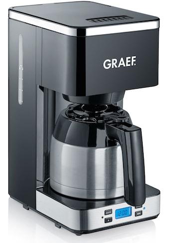 Graef Filterkaffeemaschine »FK 512«, Korbfilter, 1x4, mit Timer und Thermokanne kaufen