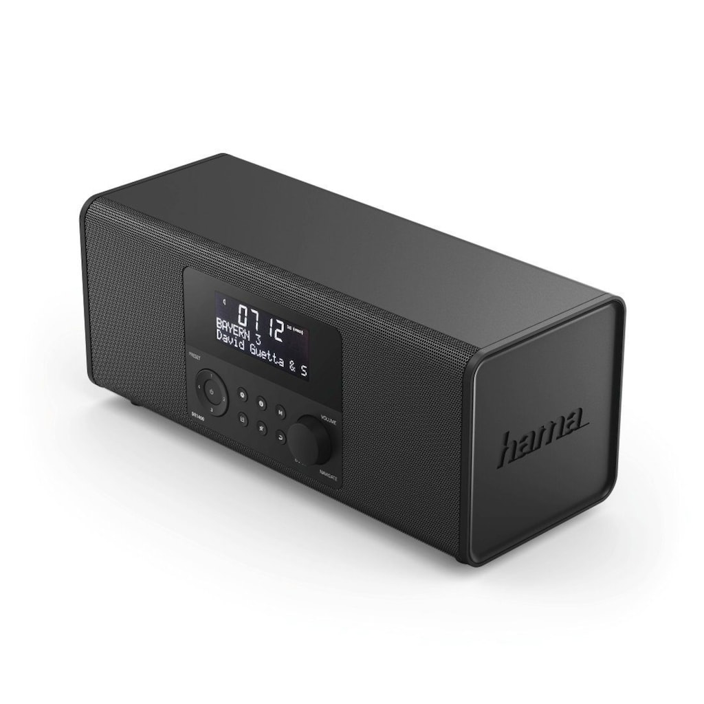 Hama Digital Radio, DAB Radiowecker, FM/Stereo/6W