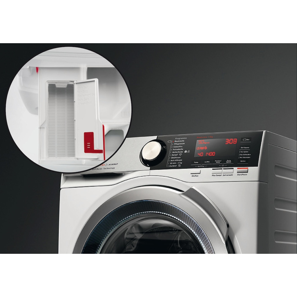 AEG Waschmaschine »L9FE86495«, LAVAMAT, L9FE86495, SoftWater - Wasservorenthärtung