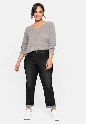 Sheego Gerade Jeans, in extra-kurzer PETITE Größe kaufen