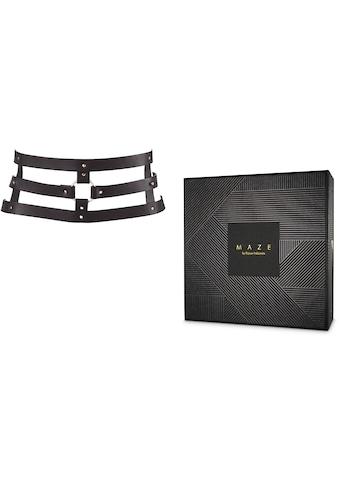 """Bijoux Indiscrets Bondage - Gurt """"MAZE Wide Belt & Restraints"""" kaufen"""