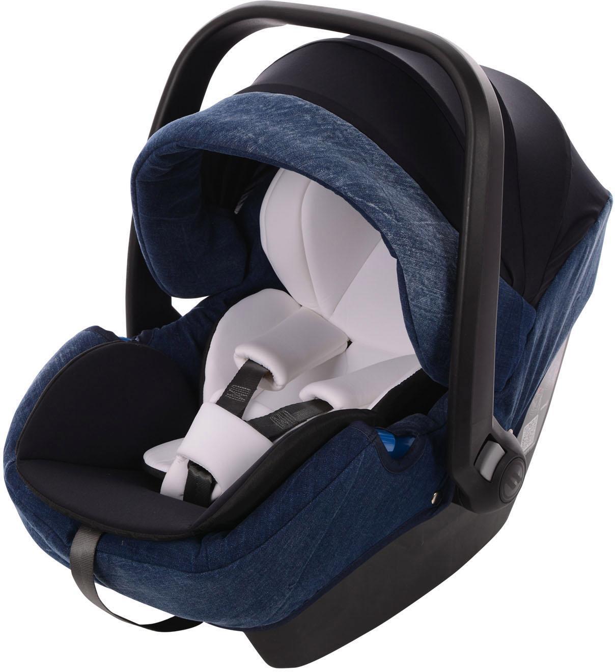 knorr-baby Babyschale, 0 - 13 kg, »K-One, blue-jeans« | Bekleidung > Jeans > Sonstige Jeans | Blau | Ab | KNORR-BABY
