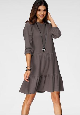 Boysen's Volantkleid, aus strukturiertem Jersey kaufen