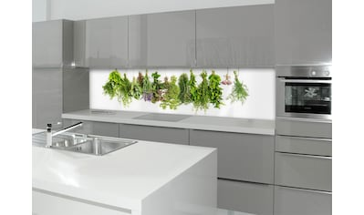 Küchenrückwand  -  Spritzschutz »profix«, Kräuterleine, 220x60 cm kaufen