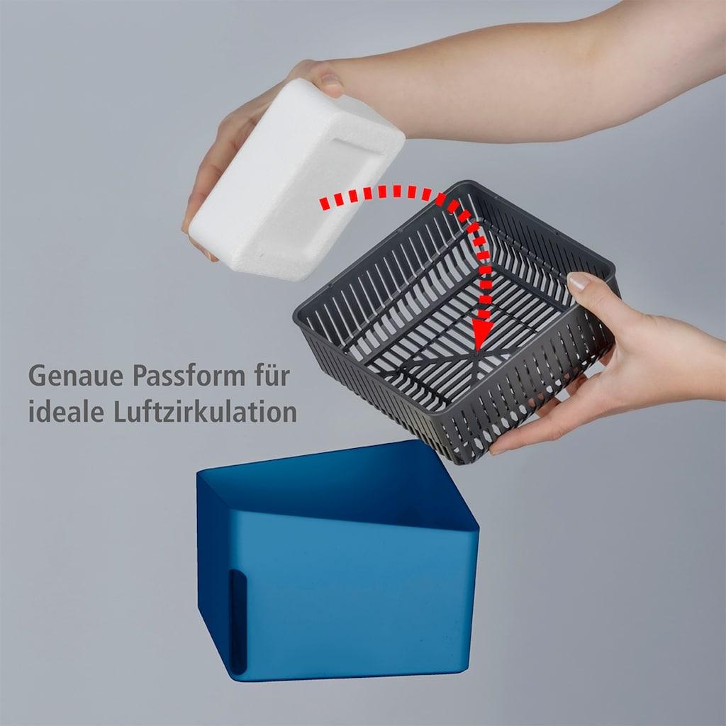 WENKO Luftentfeuchter »Cube Beige«, für 80 m³ Räume