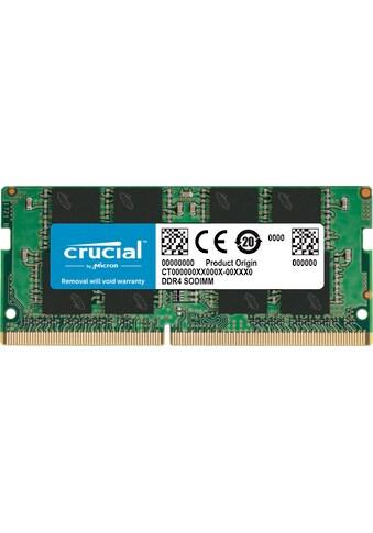 Crucial Laptop-Arbeitsspeicher »16GB DDR4-2666 SODIMM« kaufen