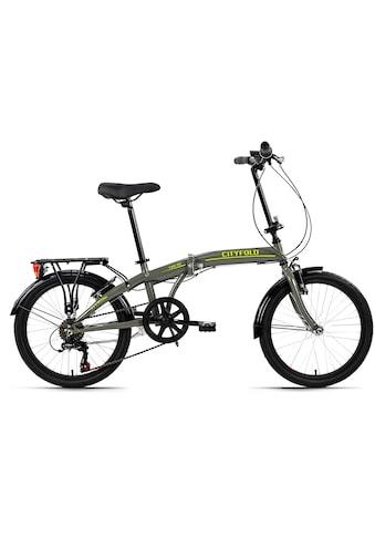 KS Cycling Faltrad »Cityfold«, 6 Gang Shimano Tourney Schaltwerk, Kettenschaltung kaufen
