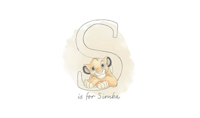 KOMAR XXL Poster »S like Simba« kaufen
