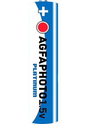 AgfaPhoto Batterie »Batterie Platinum,  LR03 MN2400«, 1,5 V, (10 St.) kaufen
