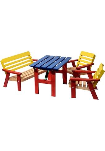 dobar Kindersitzgruppe, 4-teiliges Set kaufen