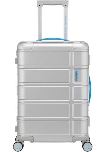 "American Tourister® Hartschalen - Trolley ""Alumo, 55 cm, blue"", 4 Rollen kaufen"