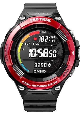 CASIO PRO TREK Smart PRO TREK Smart, WSD - F21HR - RDBGE Smartwatch (Wear OS by Google) kaufen