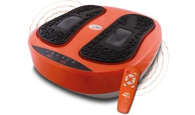 MediaShop Vibrationsplatte »VibroLegs«, 30 W, 10 Intensitätsstufen, (3 tlg., mit... kaufen