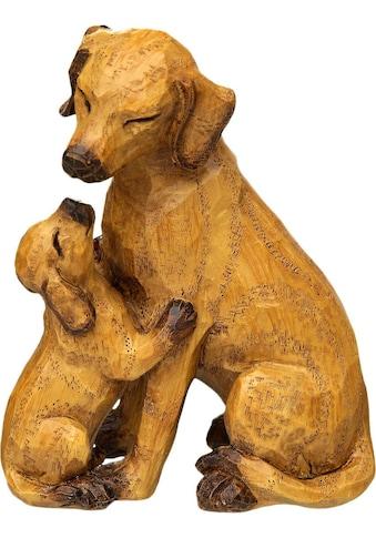 Home affaire Dekofigur »Hund mit Welpe« kaufen