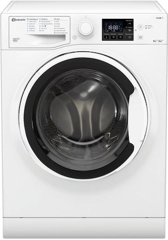 BAUKNECHT Waschtrockner WT 86G4 DE N, 8 kg / 6 kg, 1400 U/Min kaufen