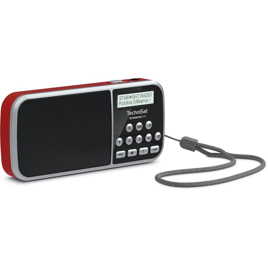 TechniSat Digitalradio (DAB+) »Techniradio RDR«, (Digitalradio (DAB+), mit LED-Taschenlampenfunktion