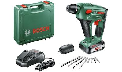 Bosch Powertools Akku-Bohrhammer »Uneo Maxx«, (Set), inkl. 1 Akku, Ladegerät, Koffer kaufen