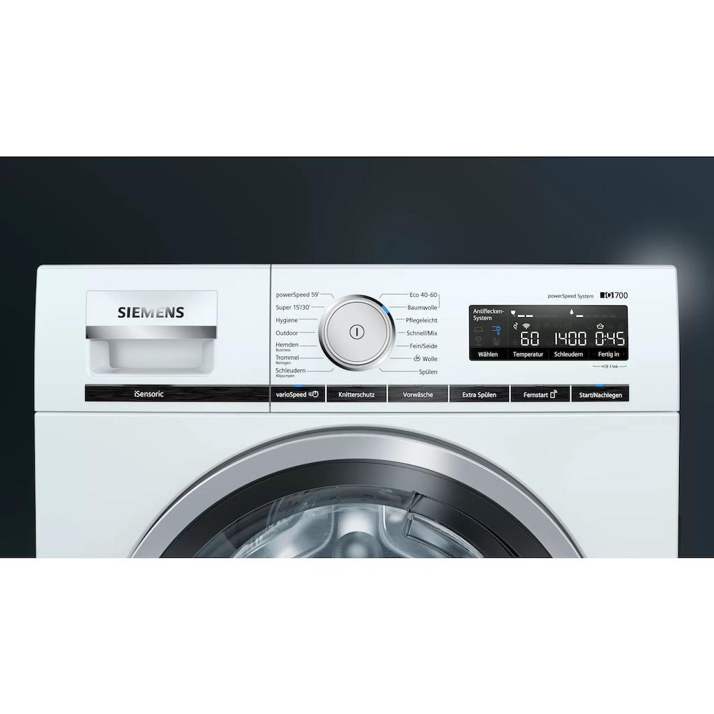 SIEMENS Waschmaschine »WM14VM43«, WM14VM43, 9 kg, 1400 U/min