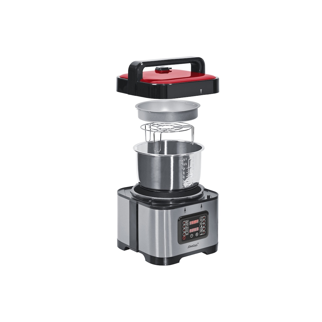 Steba Dampfdruck-Kocher »DD 1«, 800 W, 9 Automatikprogramme, 5 Liter Schüssel